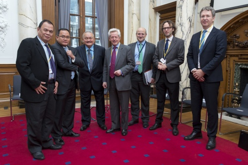 IMS ECUBES ARCOLA in London with the Governor of South Sumatra Alex Noerdin and Regent of Muba Regency Dodi Reza